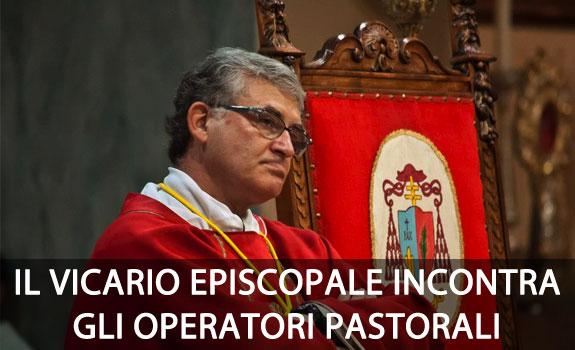 Mons. Carnevali incontra gli operatori pastorali