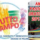ANNO PASTORALE E ORATORIANO 2013 - 2014 - A TUTTO CAMPO
